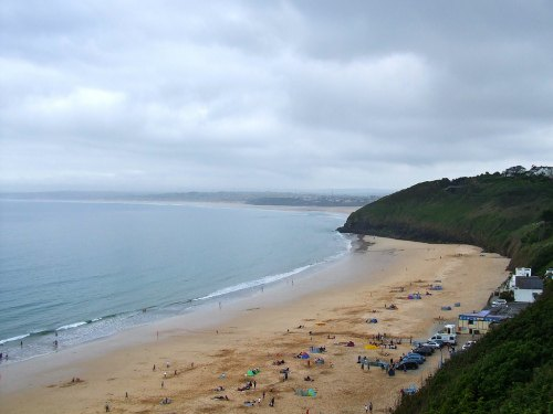 Carbis Bay Beach by Katherine