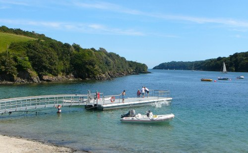 Helford Passage Beach