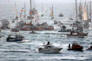 Cornwall Image Galleries B&Q Arrives in Falmouth