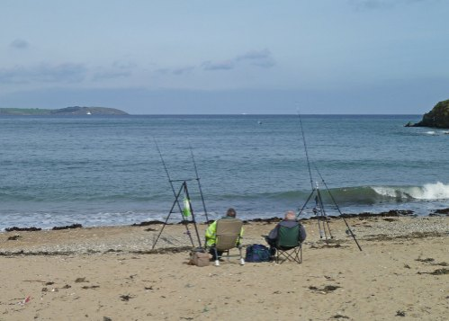 South West Cornwall Fishing Guide Maenporth Beach