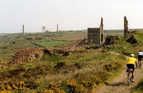 Cornwall Cycle Routes - Levant Mine