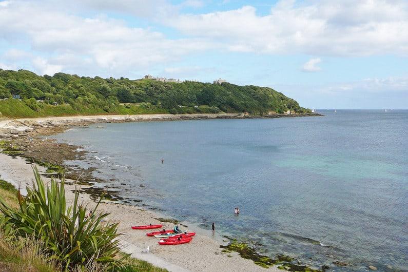 Castle Beach Falmouth