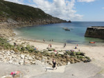 Lamorna Cove Beach