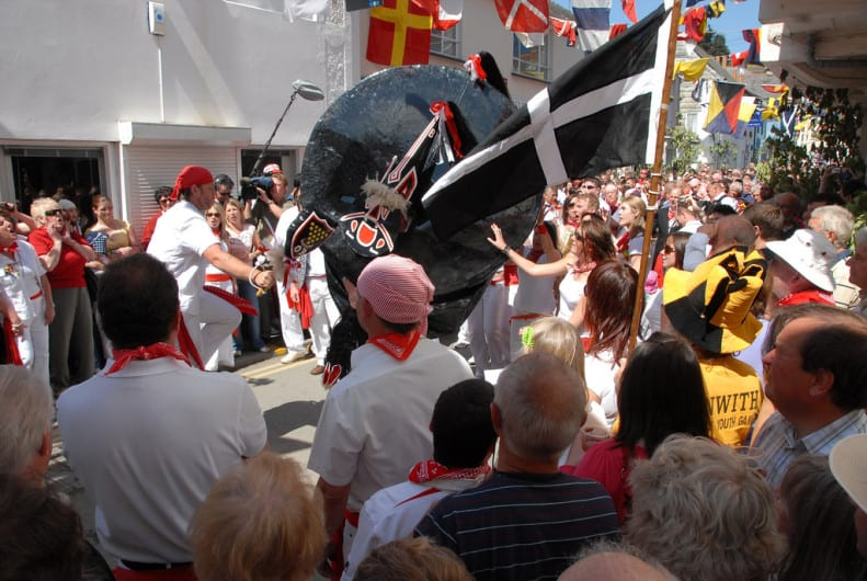 Obby Oss Parade Padstow