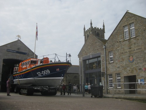St Ives Lifeboat