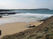 Trevone Bay Beach