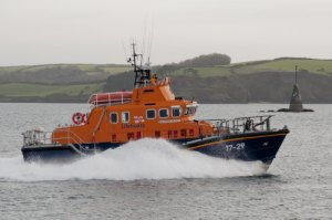 Falmouth Lifeboat Exercise