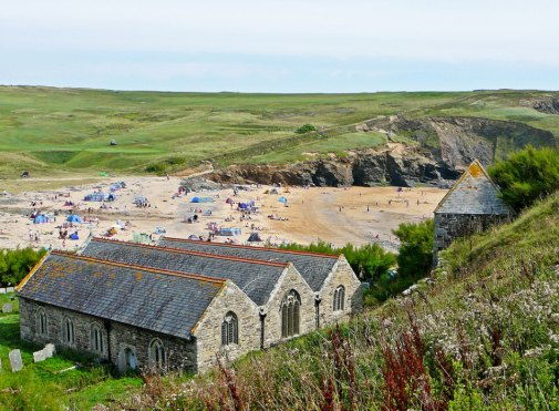 Gunwalloe Church by Tim Green