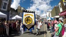 Golowan Festival Penzance Mazey Day