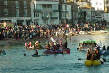 St Ives Raft Race