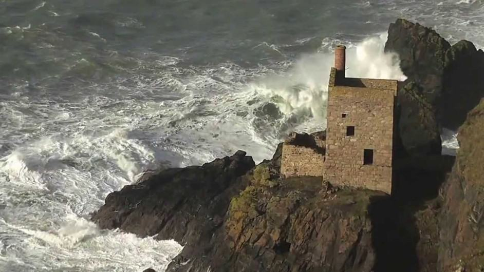 Storm Botallack Crown Mines