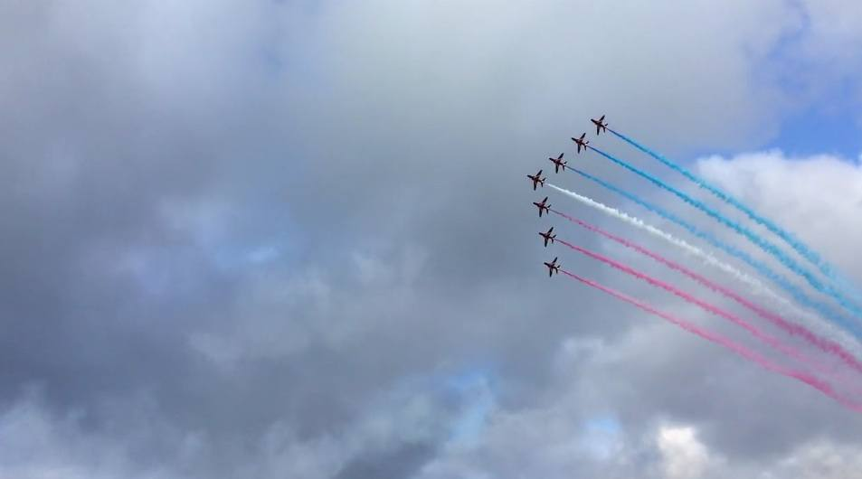 Red Arrows Falmouth 2016