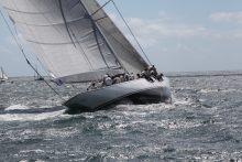 J Class racing in Falmouth Bay